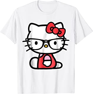 Hello Kitty Nerd Glasses Tee Shirt