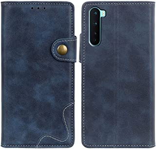 MOONCASE Case for OnePlus Nord, Premium PU Leather Cover Wallet Pouch Flip Case Card Slots Magnetic Closure Mobile Phone P...
