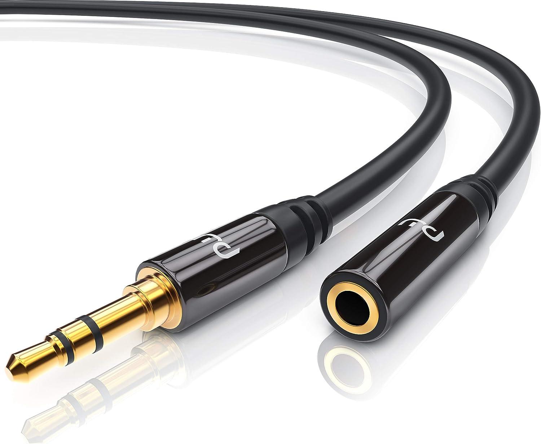 Csl Aux Kabel 3 5mm Audio Kabel 10m Klinkenkabel Elektronik
