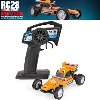 Team Associated 20152 RC28 Ready to Run Buggy, 1/28 Scale, 2WD, with Battery, Charger, 2.4Ghz Transmitter