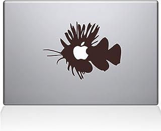 "The Decal Guru Apple Fish Macbook Decal Vinyl Sticker  - 15"" Macbook Pro (2016 & newer) - Brown (0151-MAC-15X-BRO)"