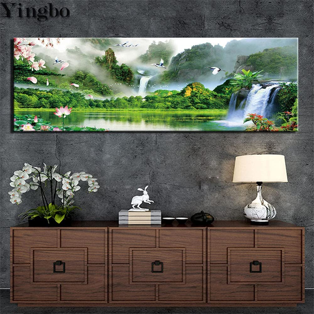 Diamond Cheap super special price Painting Mountain Limited time cheap sale Lake Kit Full D Large