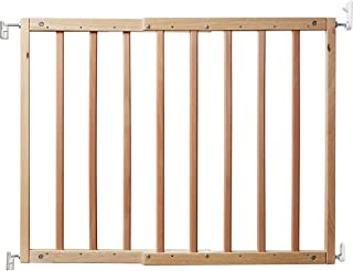 Primetime Petz Safety Mate Expandable Pet and Baby Gate, Sturdy Wall Mountable Safety Gate for Hallways, Stairs, or Outdoo...