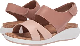 Rose/Nude Leather Combi
