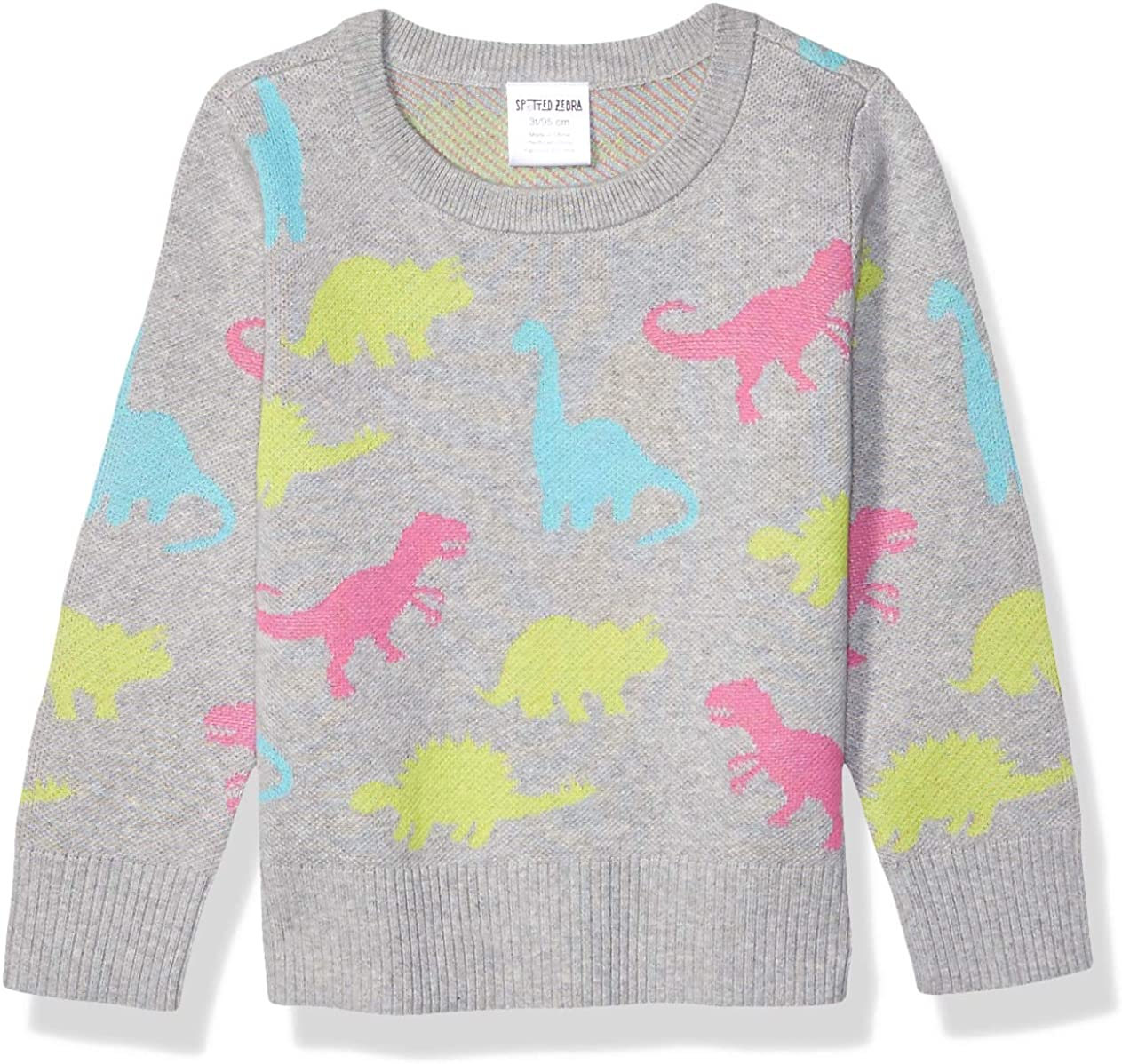 Brand Spotted Zebra Girls Toddler /& Kids Pullover Crew Sweaters