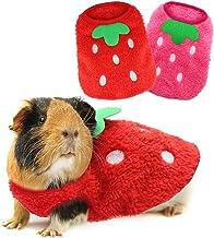 Xmas Guinea Pig Outfit Guinea Pig Sweater Guinea Pig Clothes Tiny Christmas Elf Dress Elf Costume for Guinea pig