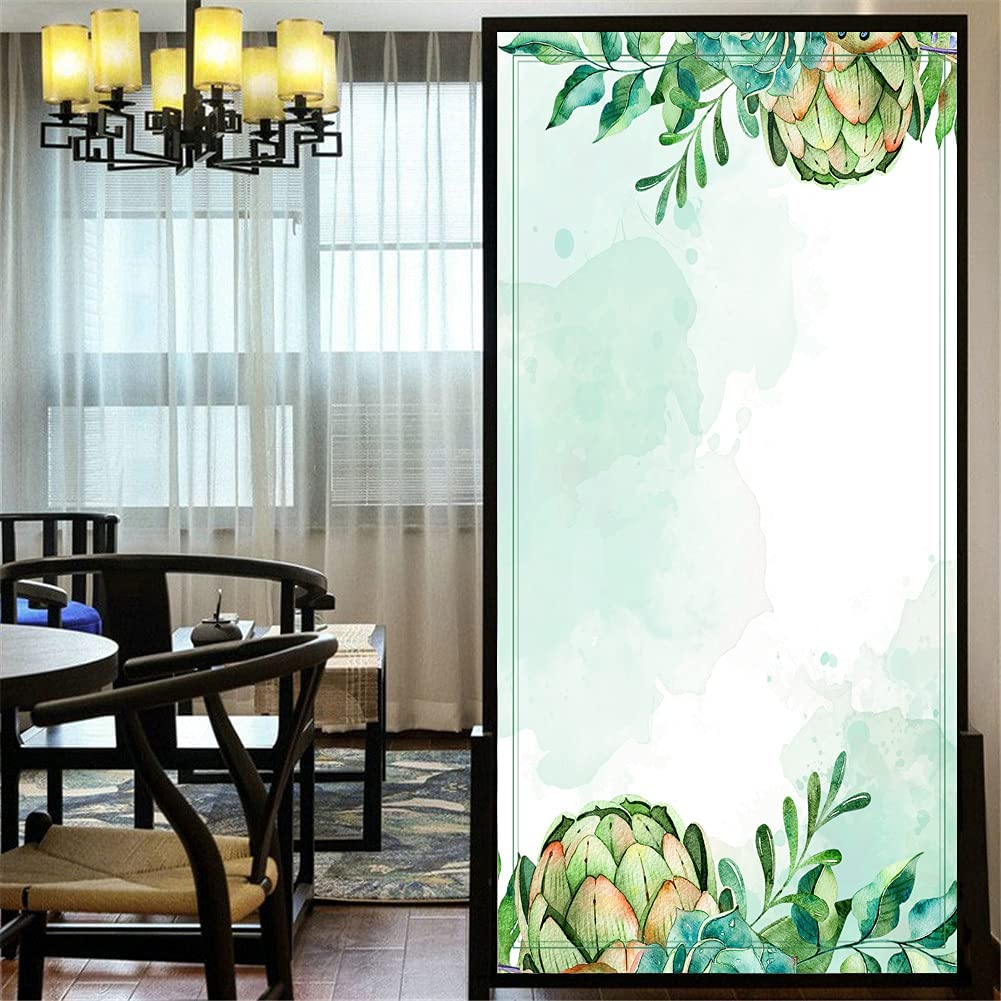 LXDWEI Privacy Window Film Customize Clin Limited time cheap sale Static Brand new Plant 87A Style