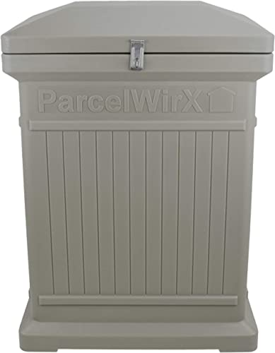 RTS Companies Inc 550200400A6581 ParcelWirx Storage Cabinet, Prestige Pewter