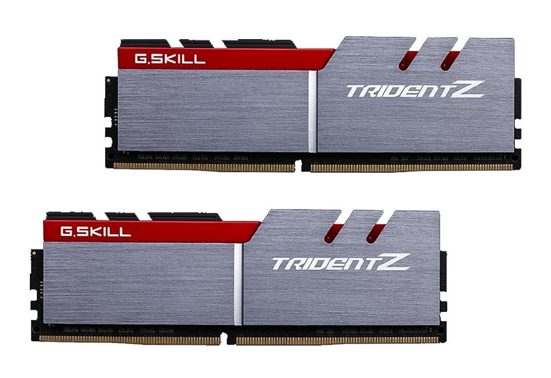 サミット音声学作ります(2800MHz, 32GB (16GBx2)) - G.SKILL TridentZ Series F4-2800C14D-32GTZ 32GB DDR4 2800 MHz C 14 1.35 V Memory Kit - Dual Colour