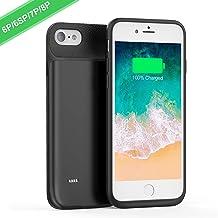 FLYLINKTECH Funda Bateria para iPhone 8 Plus/7 Plus/6S Plus/6 Plus, 8500mAh Batería Cargador Externa para iPhone 8 Plus/7 Plus/6S Plus/6 Plus Recargable Backup Charger Case Portátil Power Bank Case