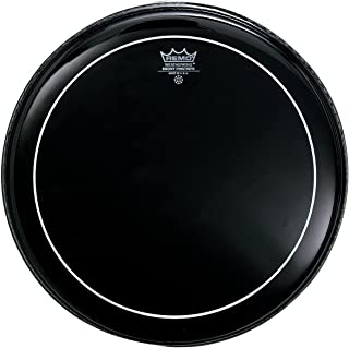 Remo ES0616PS Ebony Pinstripe Drum Head, 16-Inch