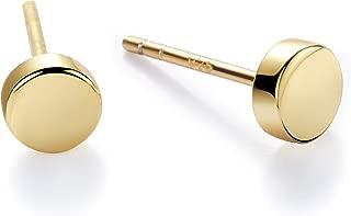 Best leaf earrings gold stud Reviews