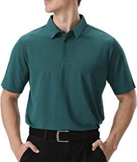 Men's Polo Shirts Quick Dry Golf Shirts Short Sleeve...