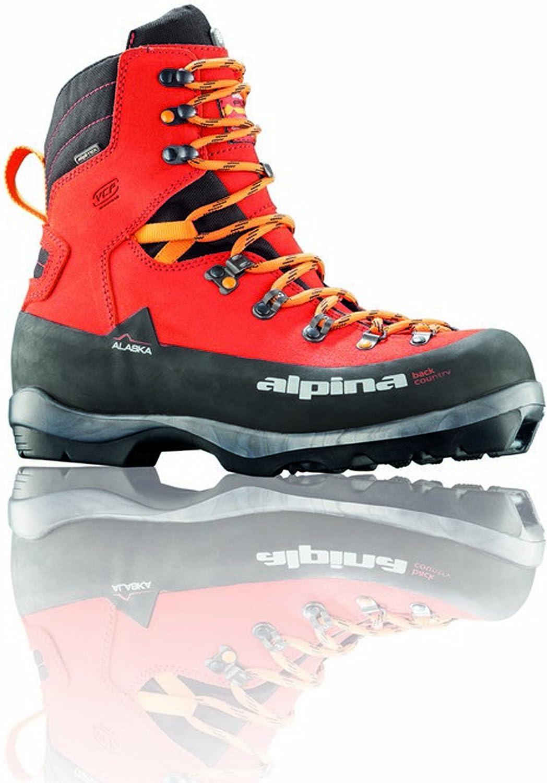 Alpina Sports Alaska Heat Heated Leather Backcountry Cross Country Nordic Ski Boots