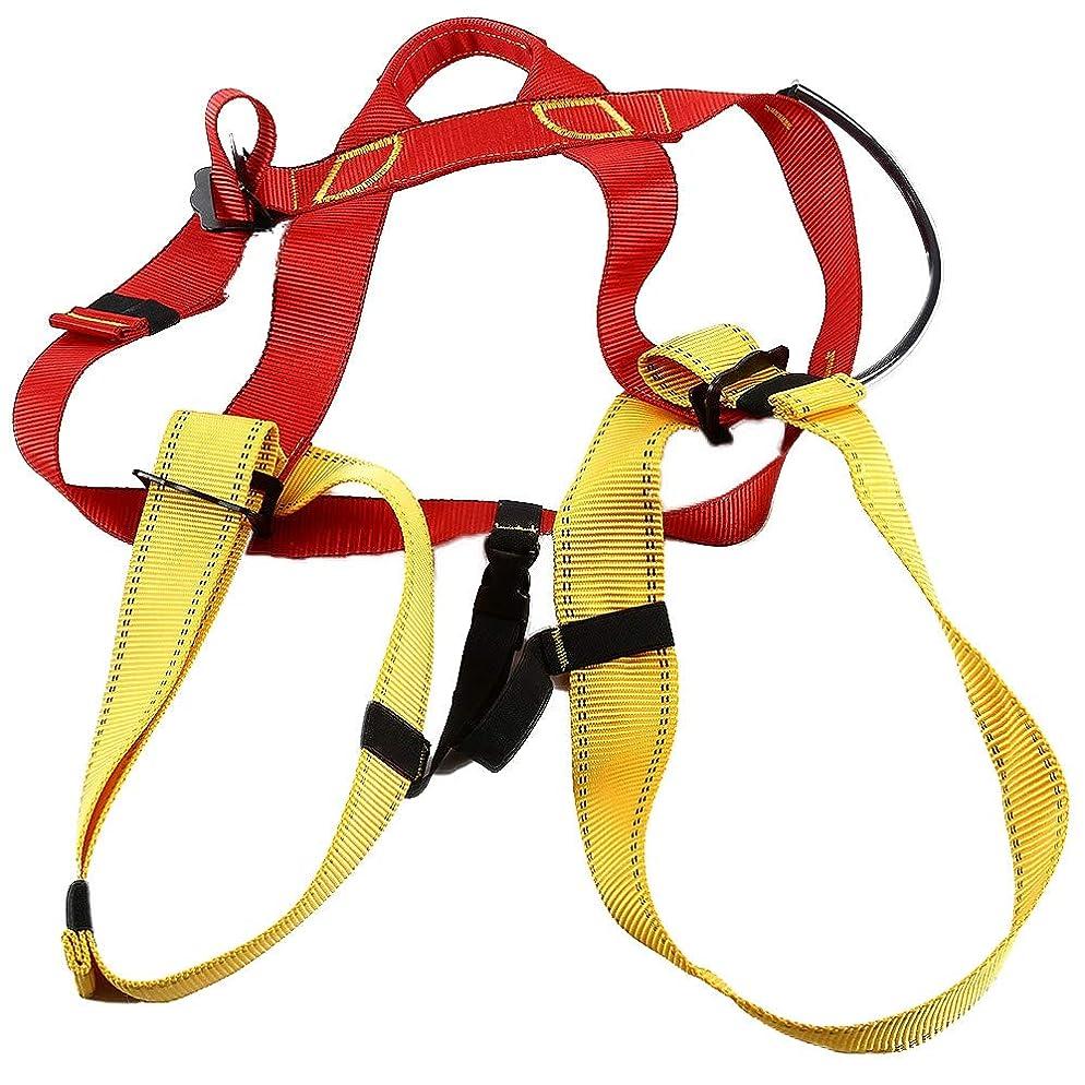 ビーズ三角形殺人屋外ロッククライミング懸垂下降機器用ハーネスシートベルト
