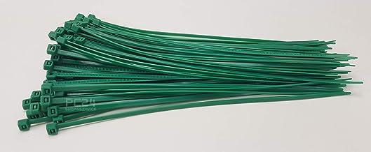 PC24 Shop & Service Kabelbinders, groen, 100 stuks, premium kwaliteit