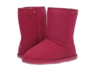 EMU Australia Kids Wallaby Lo Teens (Big Kid) (Berry) Girls Shoes