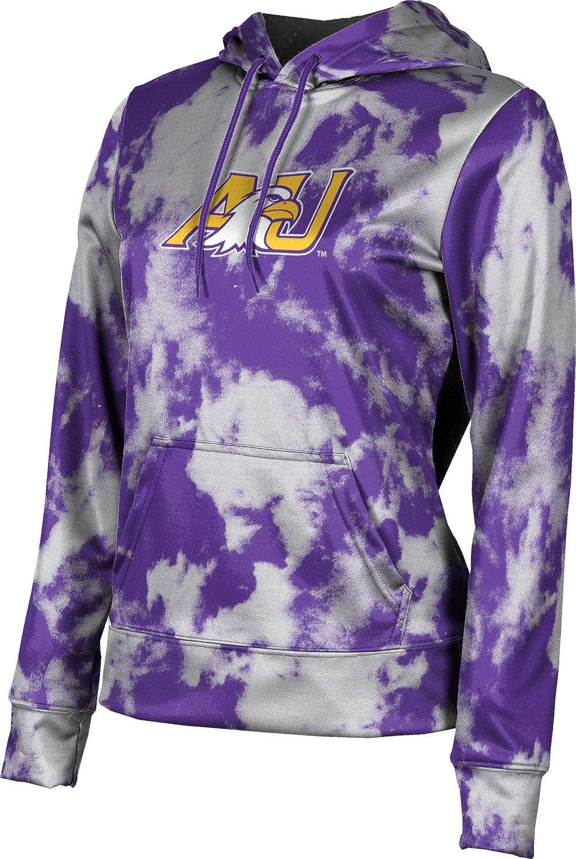 ProSphere Ashland University Girls' Pullover Hoodie, School Spirit Sweatshirt (Grunge)