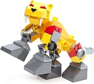 Mega Construx Power Rangers Sabertooth Zord Building Kit