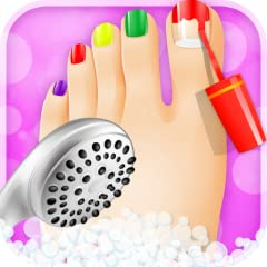 Every girl loves Foot Spa, Come to makeover and dress up in the Foot Spa. It's a kids games for girls!