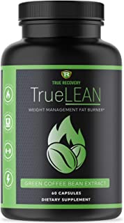 TrueLEAN Green Coffee Bean Extract Weight Management Detox - Lean Body, Energy & Metabolism Booster - 60 Weight Loss Pills...