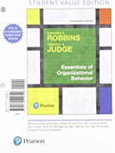 Essentials of Organizational Behavior, Student Value Edition + 2019 MyLab Management with Pearson eText -- Access Card Package (14th Edition)