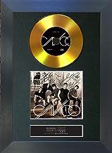 U've Been Frame #186 Gold CD CNCO Primera Cita firmado con autógrafo de CD y portada, impresión A4 Rare Perfect Birthday (297 x 210 mm)