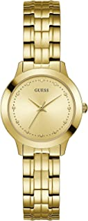 Guess Womens Quartz Watch, Analog Display and Stainless Steel Strap W0989L2