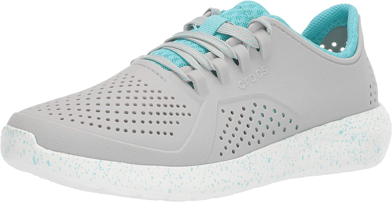Crocs Womens Literide Graphic Pacer Sneaker