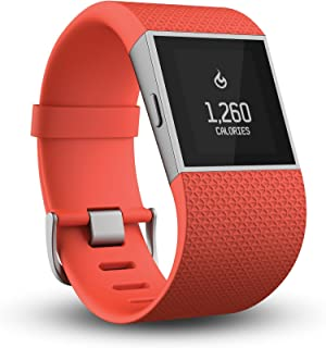 Fitbit Surge Fitness Super Watch, Tangerine, Small