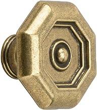 Metafranc Meubelknop Ø 30 mm - messing - gepolijst - hoogwaardige afwerking - mooi vormgegeven & decoratief - incl. montag...
