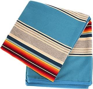 Pendelton Woolen Mills Inc Pendleton Wool Serape Blanket Turquoise