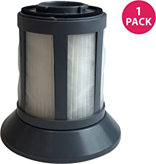 Crucial Vacuum Replacement Vacuum Filter - Compatible with Bissell Part # 2031532 - Bissell Dirt Bin Filter Fits Zing Bagless Canister Vacuum Models - Washable, Reusable, Compact Vac Filters (1 Pack)