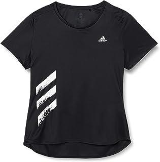 adidas RUN IT TEE 3S W Womens T-SHIRTS