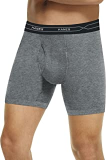 Hanes Men's X-Temp Long-Leg Boxer Briefs Comfort Waistb& 2 X 3-Pack