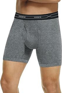 Hanes Men's X-Temp Long-Leg Boxer Briefs Comfort Waistb& 2 X 3-Pack