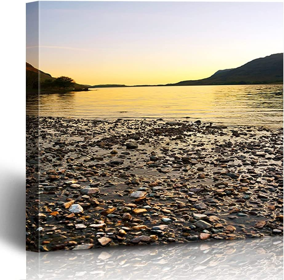 FAREYY Canvas Prints Recommendation Landscapes Colorado Springs Mall Pebbles Water Art D Scenery Wall