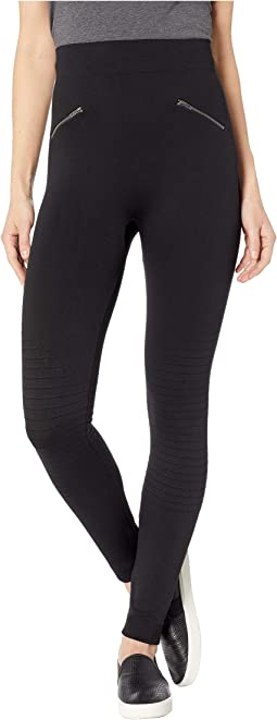 Moto Brushed Seamless Leggings