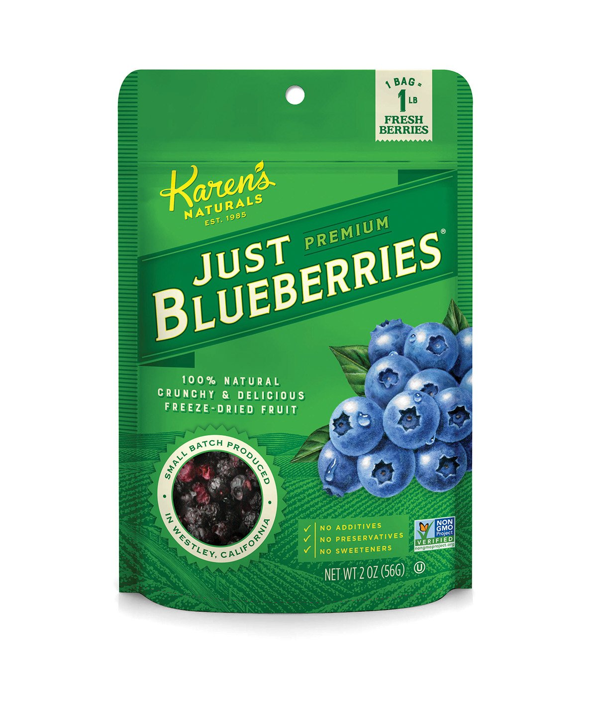 Topics on TV Karen's Product Naturals Just Tomatoes Pouch Ounce Blueberries 2