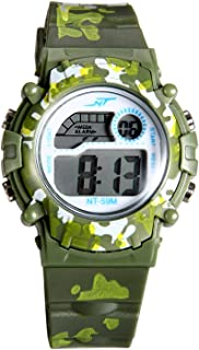 Kids Multi-Function Sport Watch Calendar Alarm Wristwatch for Boys and Girls