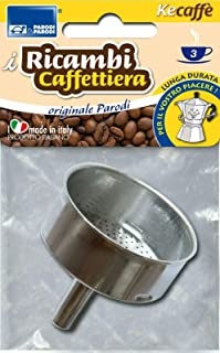 Parodi & Parodi 607 Recambios cafetera 3 Tazas, Neutro, estándar