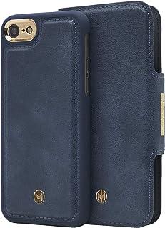 Marvêlle 305 para iPhone 7Plus 8Plus Super Slim 2 en 1 cartera y funda a prueba de golpes