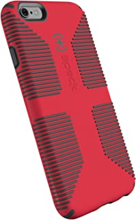 Speck Products CandyShell Grip Cell Phone Case for iPhone 6, iPhone 6S - Rhubarb Red/Slate Grey