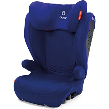 Monterey 4DXT Latch Booster Seat with Expandable Height/Width, 3-Layer of Protection and 2-in-1 Belt Positioning, Blue