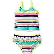 Carter's Girls' Infant Striped Tankini Swimsuit Set