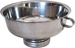 Stainless Steel Mason Jar Milk Strainer for Dairy Goats & Sheep (Mini Strainer)