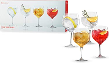 Spiegelau Special Glasses Gin & Tonic, 10.6 x 10.6 x 19.5 cm, Clear, 4 Set