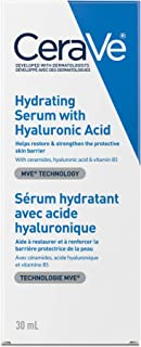 CeraVe Hyaluronic Acid Face Serum | Hydrating Serum for Face with Vitamin B5 | for Normal To Dry Skin | Fragrance Free, 30...