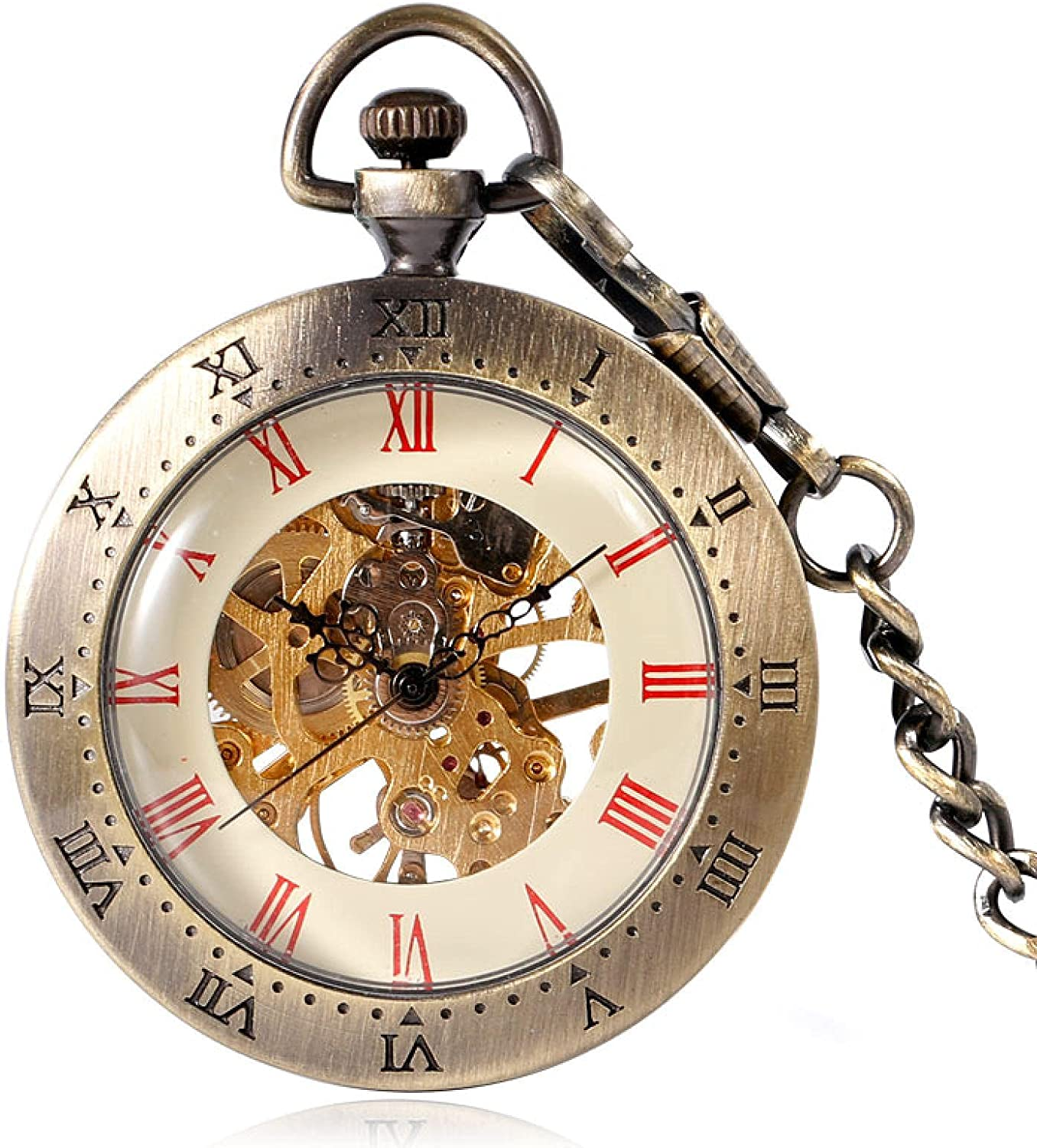 ZIYUYANG Pocket watch Mechanical List price chain with pocket classic Max 64% OFF