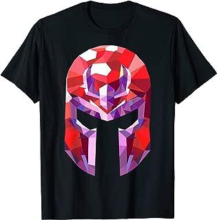 Marvel X-Men Magneto Geometric Prism Helmet Graphic T-Shirt